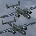 weathering B-25C