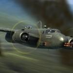 B-25C strafer conversion